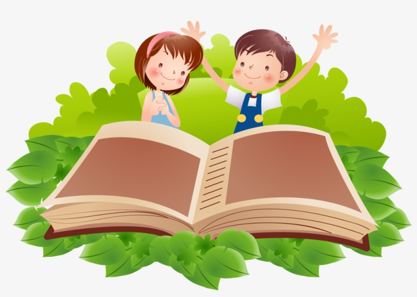 Reading Book Clip Art