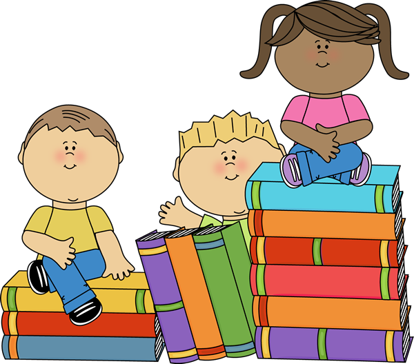 Teacher Reading To Students Clipart