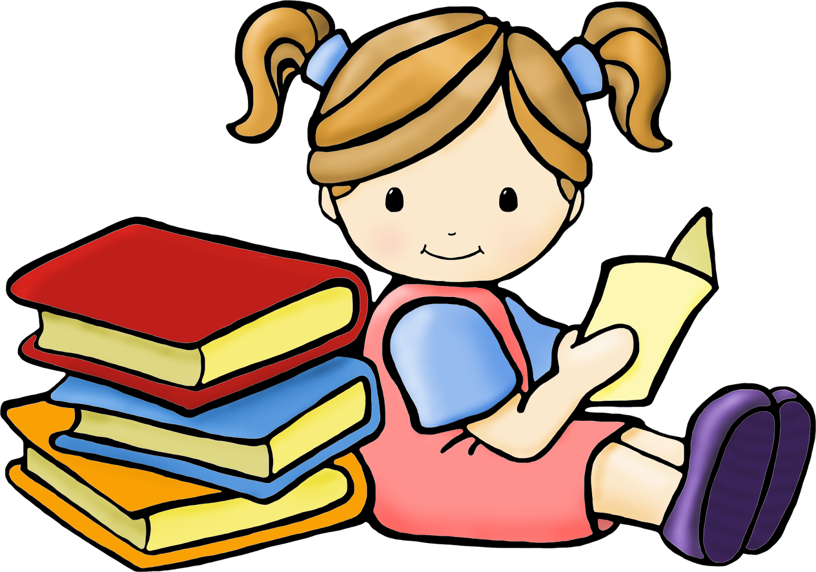 Student clipart book.