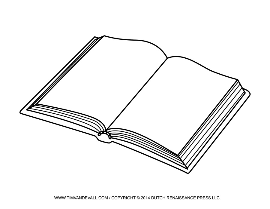 Free Open Book Template, Download Free Clip Art, Free Clip