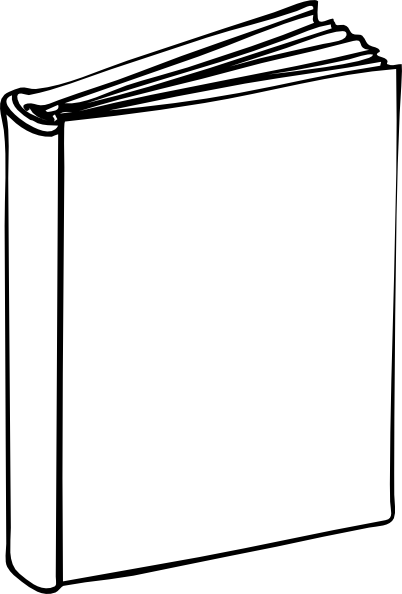 Blank book clip.