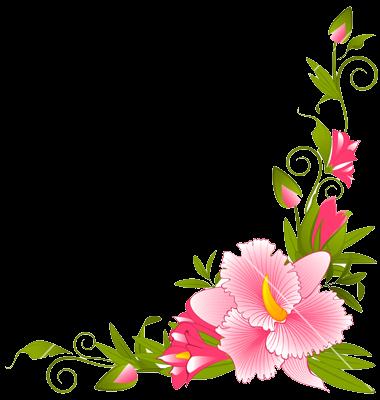 Download flowers borders.