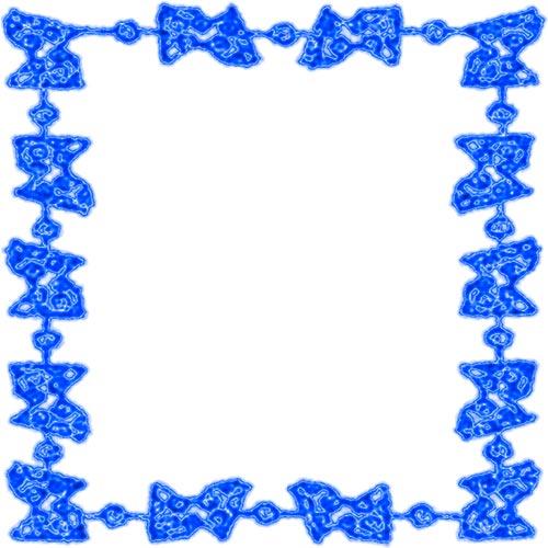 Free blue borders.