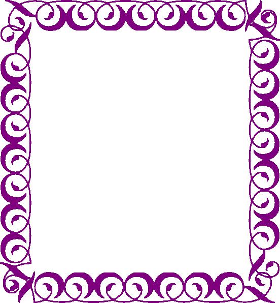 Flower circle border.