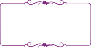 Purple decorative border.