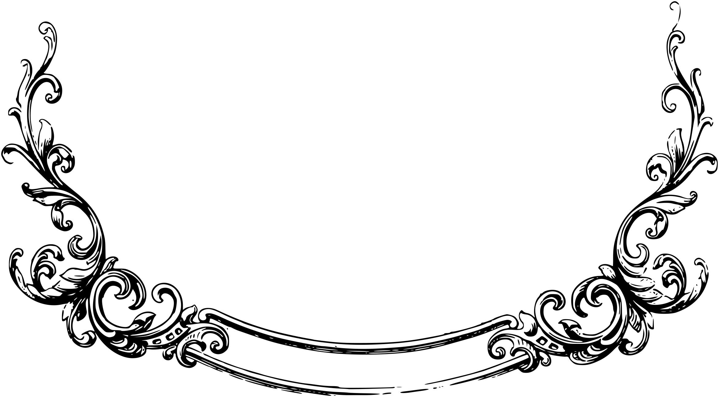 scroll clipart border