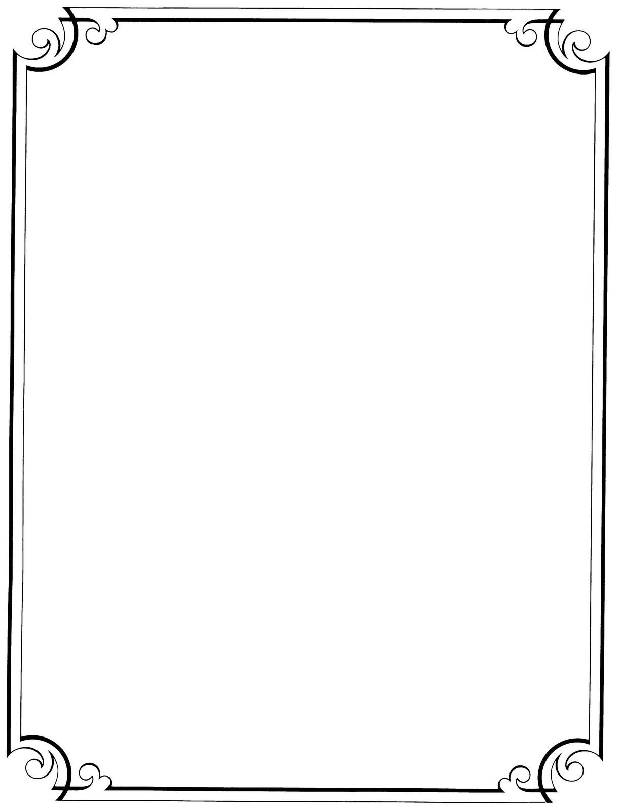 Frame victorian scroll.