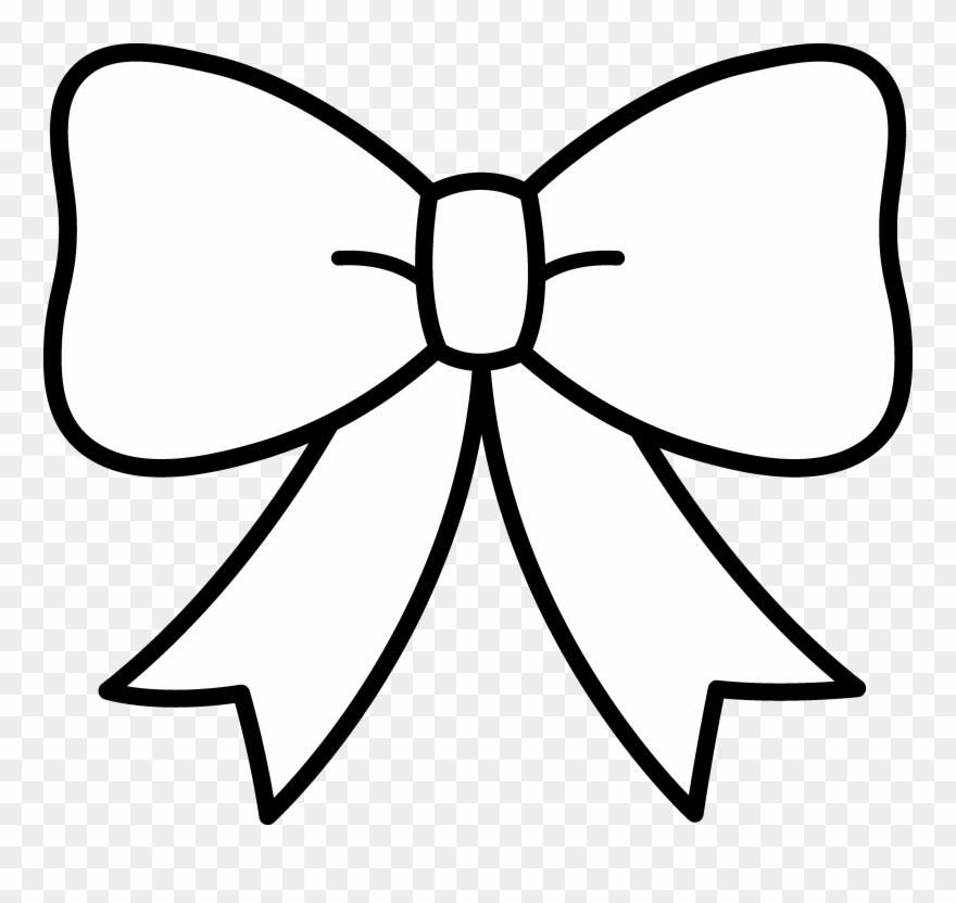 bow clipart white