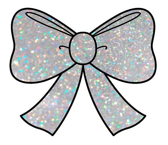 Silver sparkle glitter.