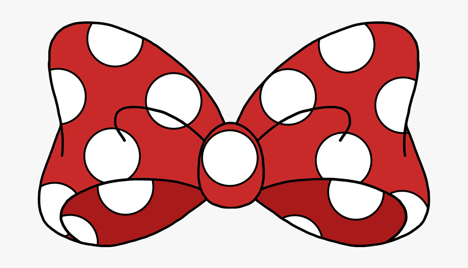 Mickey mouse bow.