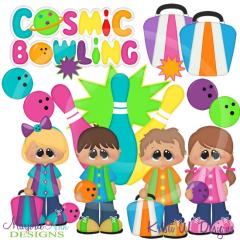 Cosmic bowling svg.