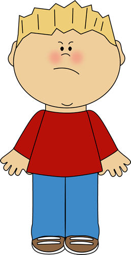 emotion clipart boy