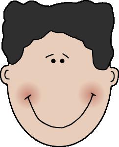 Boy face clip.