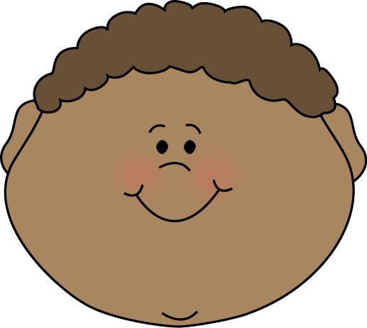 faces clipart free kid