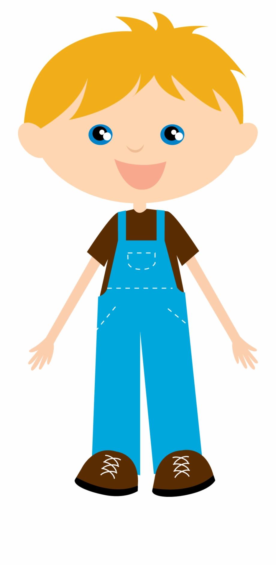 Little farmer boy.