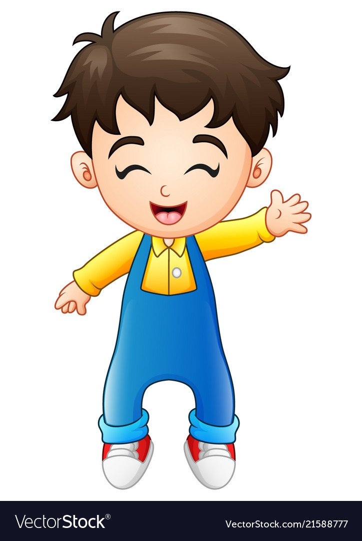 Happy Cartoon Young People » Dondrup.com |Clipart Boy Standing