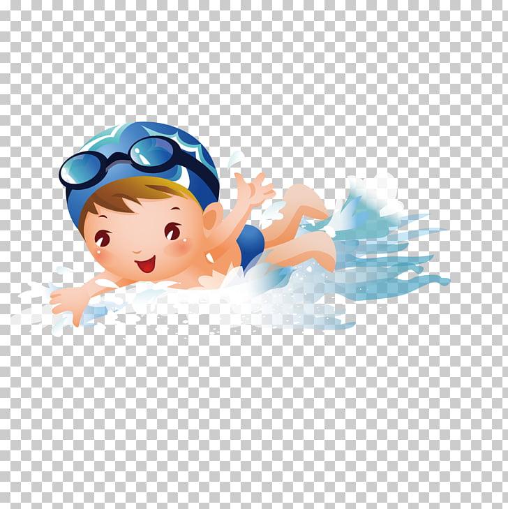 Swimming pool boy.