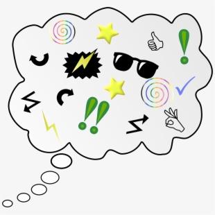 Brainstorm clipart idea.