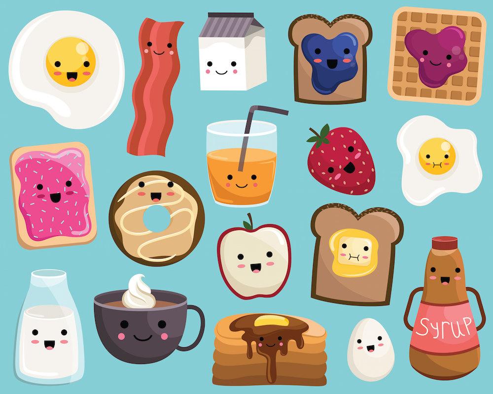 Food clipart free cute. Food clipart free cute. Breakfast clip art library