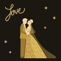 Wedding bride and.