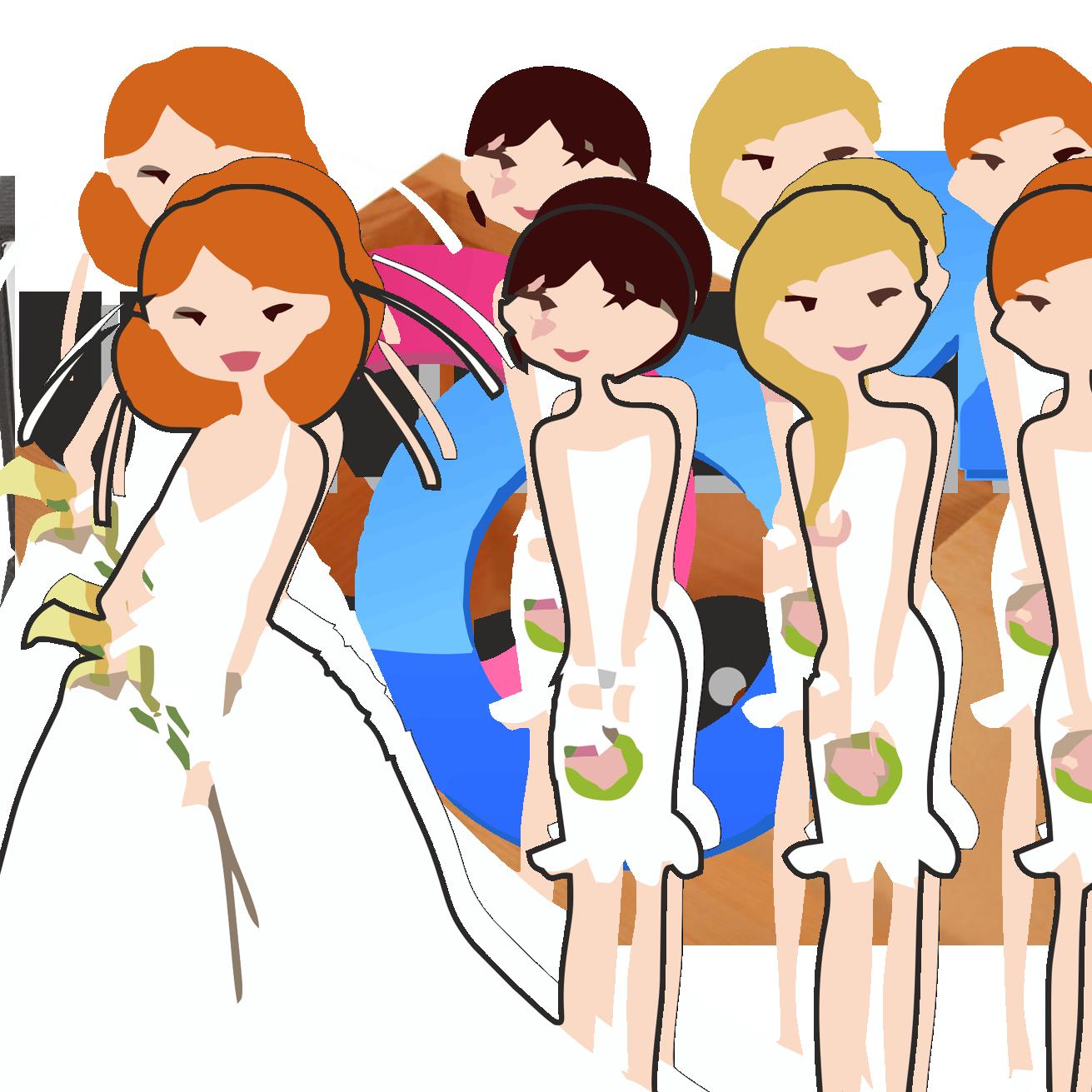 Free funny bridesmaid.