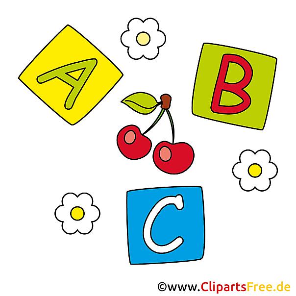 Buchstaben clipart cliparts free. Kloetzchen babyspielzeug bilder