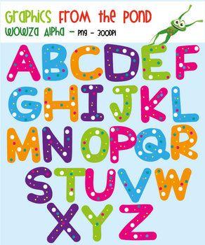 Buchstaben clipart cliparts free. Wowza alpha alphabet for