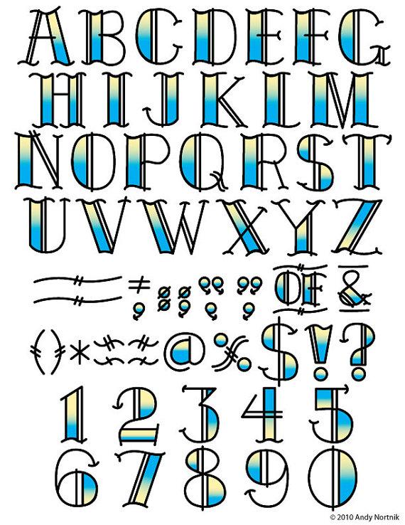 Buchstaben clipart royalty. Tattoo clip art fonts