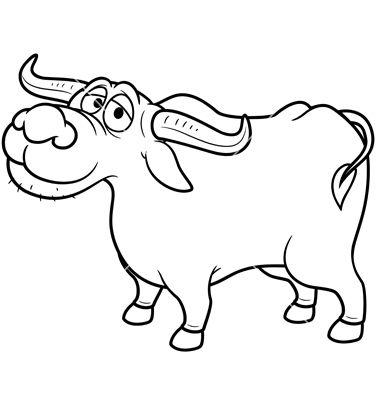 buffalo clipart carabao