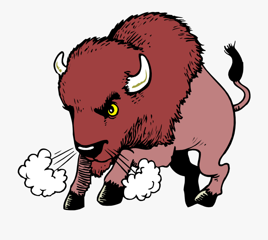 Bison clip art.