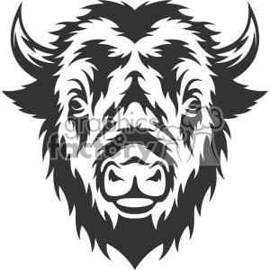 buffalo clipart head