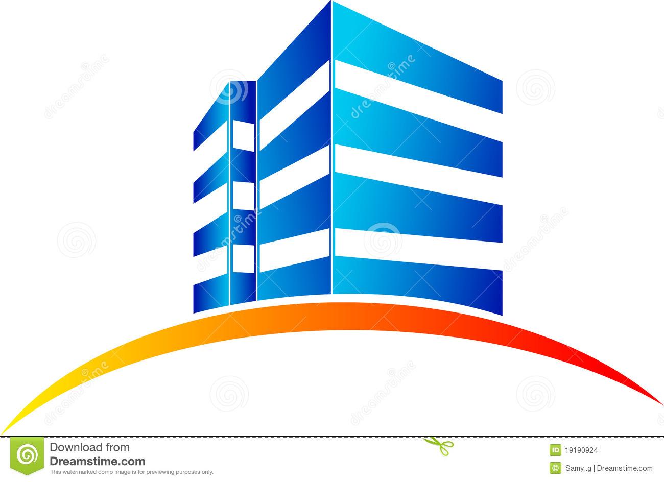 Building logo clipart