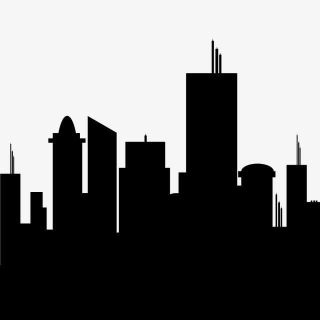 building logo clipart silhouette