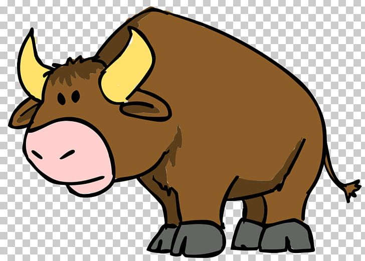 Bull clipart animated. Cartoon drawing png animation