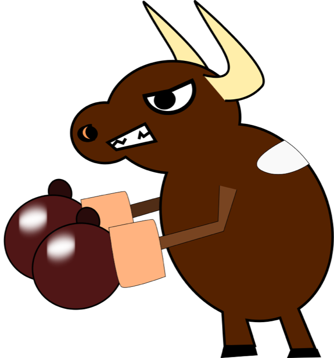 Bull clipart animated. Bull clipart animated. Cow animations free graphics