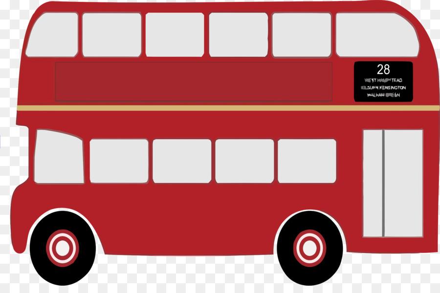 Doubledecker bus clip.