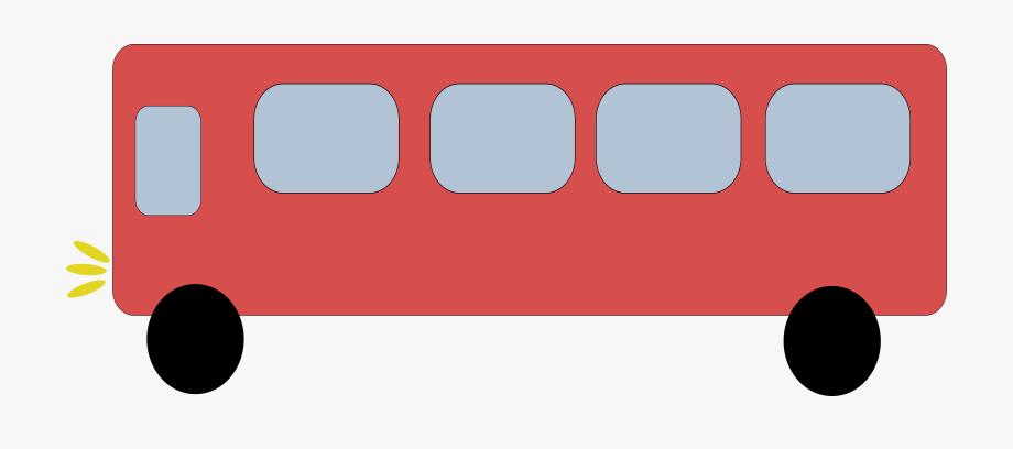Bus clipart rectangle.