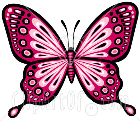 Pretty butterfly clipart.