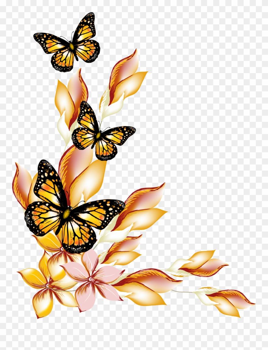 Flower Flowers And Butterflies