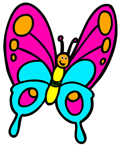 Free Cartoon Butterfly Cliparts, Download Free Clip Art