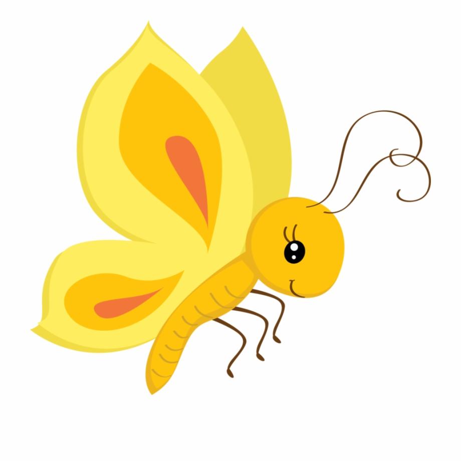 Cute butterfly clipart.