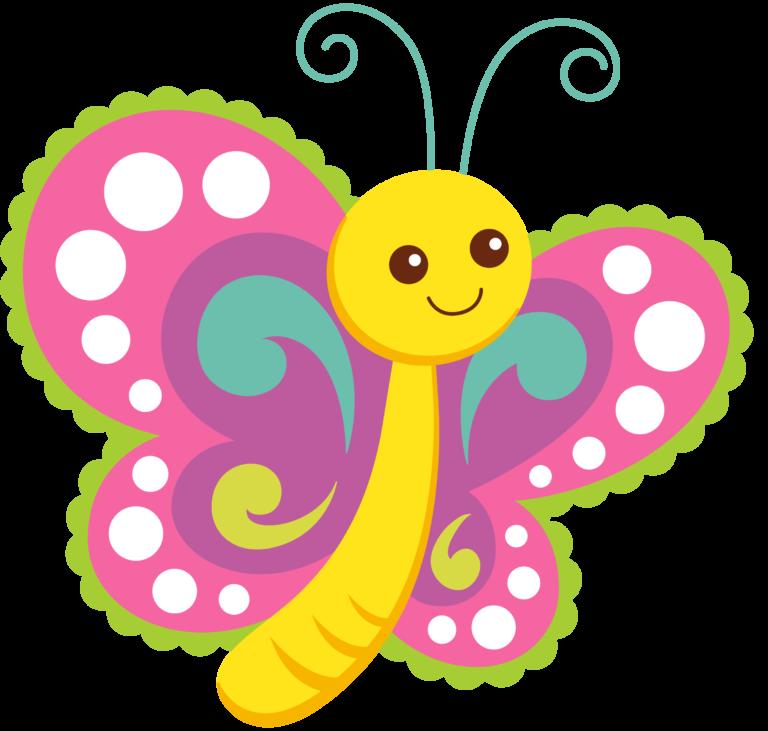 Cartoon Butterflies Clipart