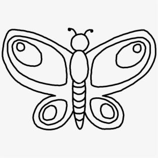 Good butterflies clipart.