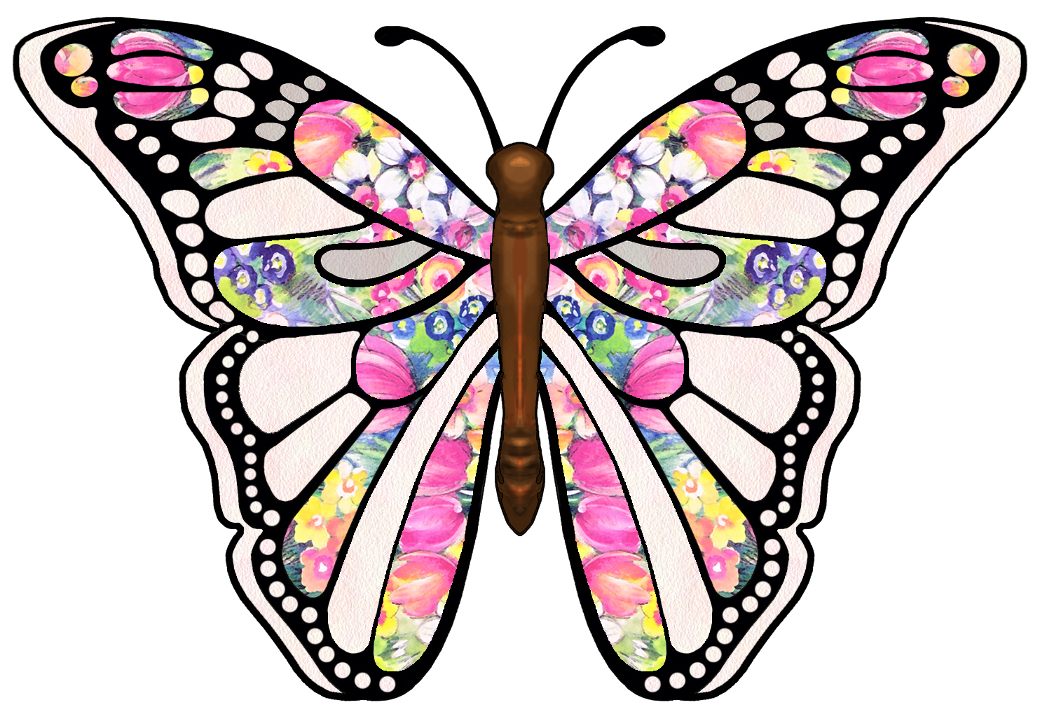 Printable Butterfly Clipart