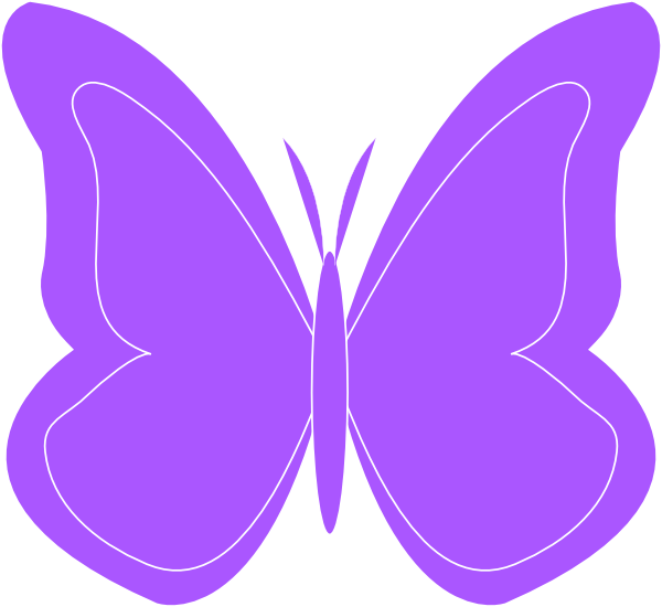 Free Purple Butterfly Cliparts, Download Free Clip Art, Free