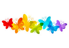 Free Rainbow Butterfly Cliparts, Download Free Clip Art