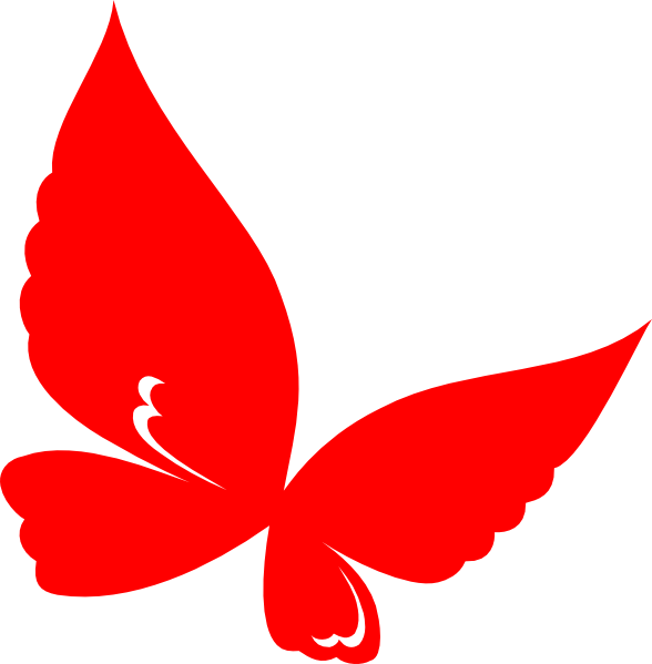 Free Red Butterfly Cliparts, Download Free Clip Art, Free