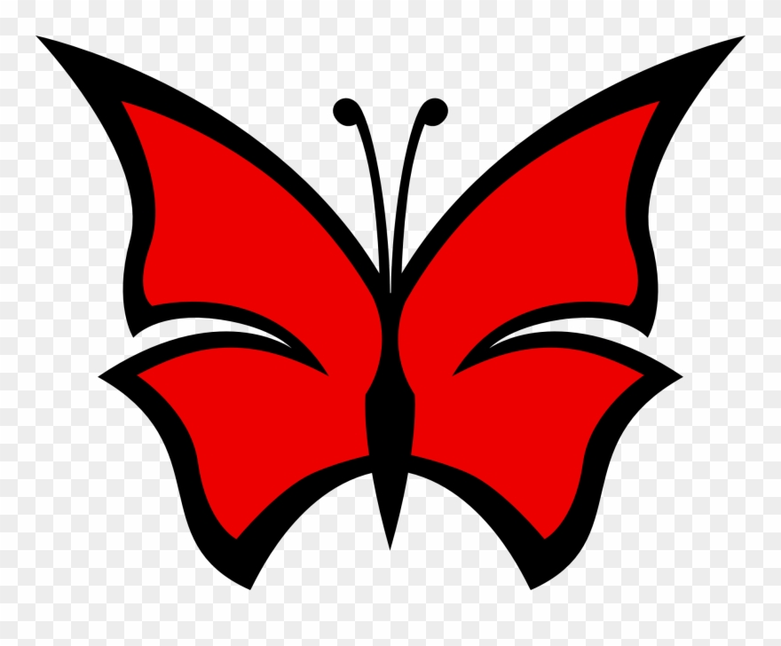 Clipart Red Butterfly Cliparts Free Download Clip Art