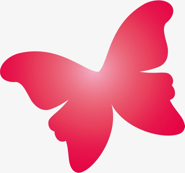 Simple butterfly clipart