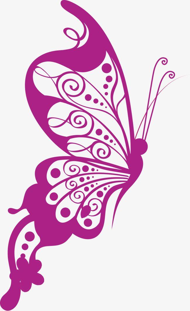 Vector Art Butterfly, Butterfly Clipart, Vector, Butterfly